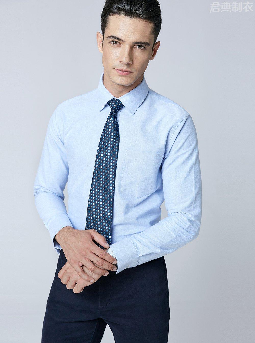 纯棉舒适长袖衬衫2