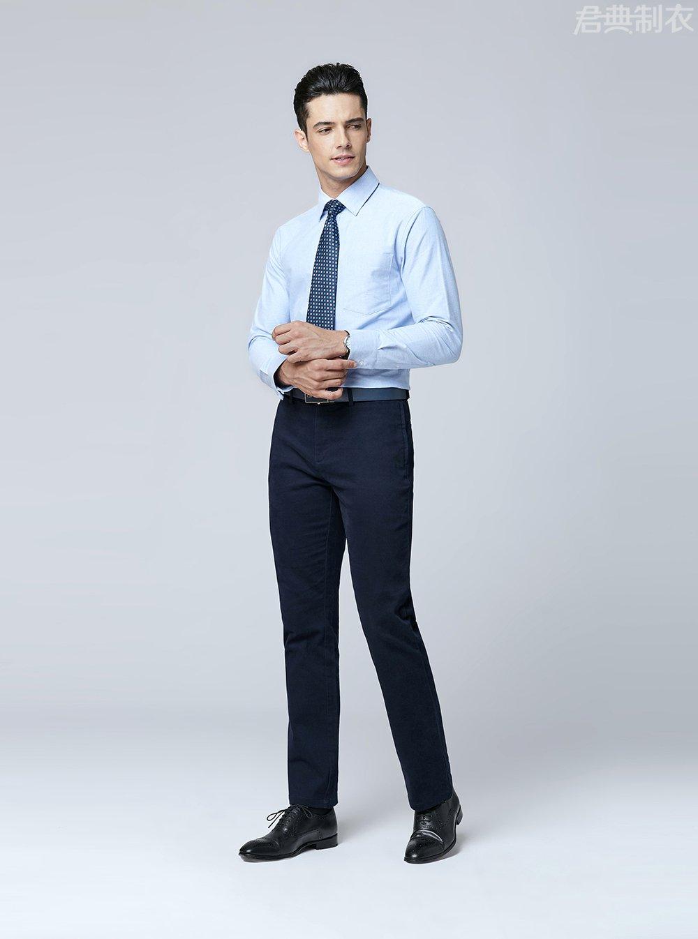 纯棉舒适长袖衬衫1