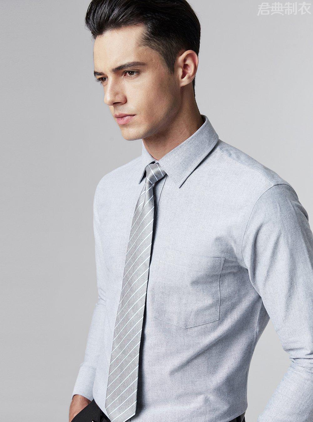 纯棉舒适长袖衬衫5