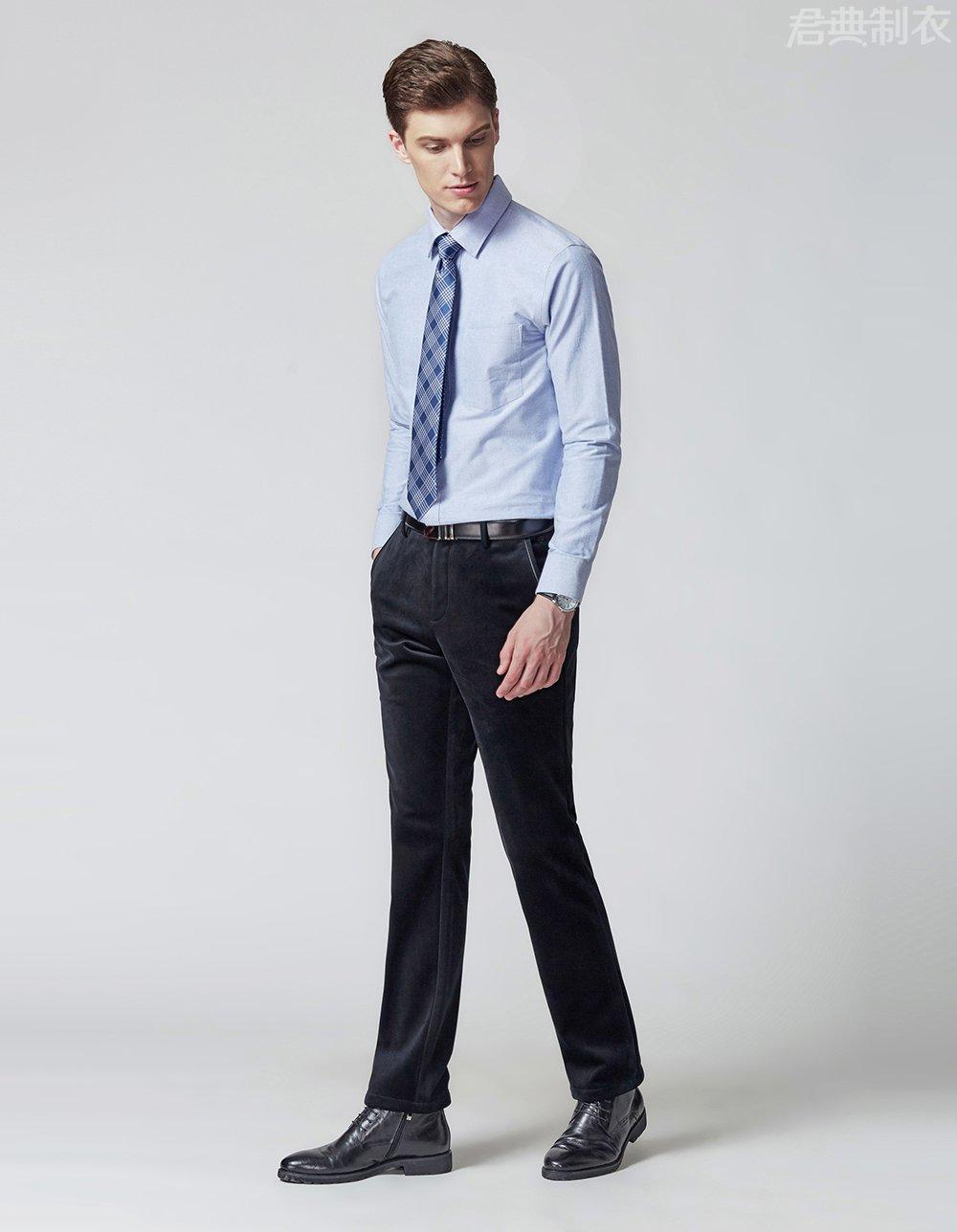 纯棉舒适长袖衬衫6
