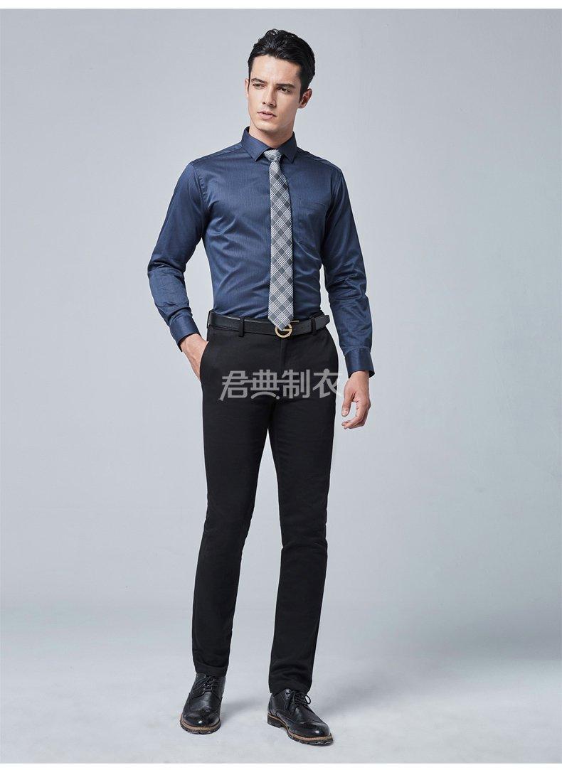 纯棉免熨长袖衬衫1
