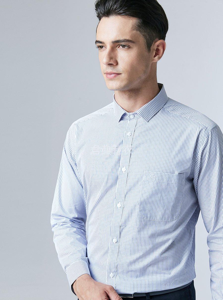 男士格子衬衫2