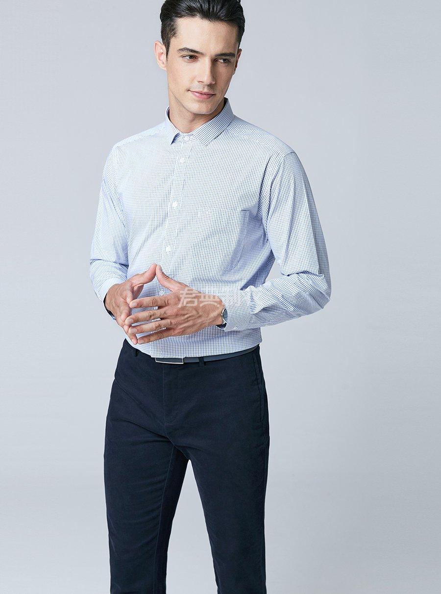 男士格子衬衫3