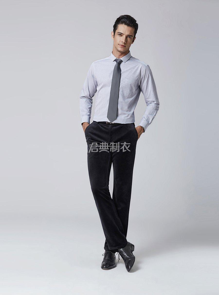 男士格子衬衫4
