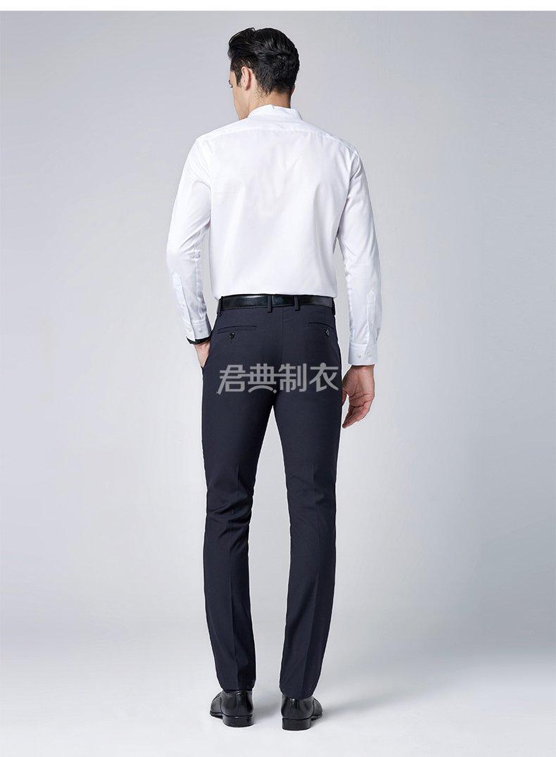 时尚小立领长袖衬衫3