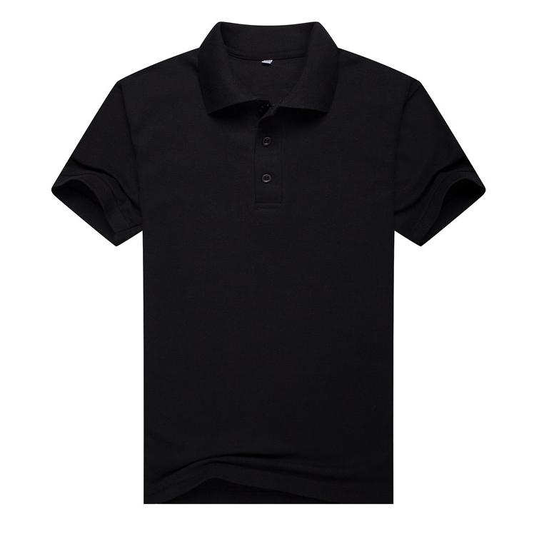 黑色T恤衫,短袖黑色T恤衫万博体育手机端款式 A2-008