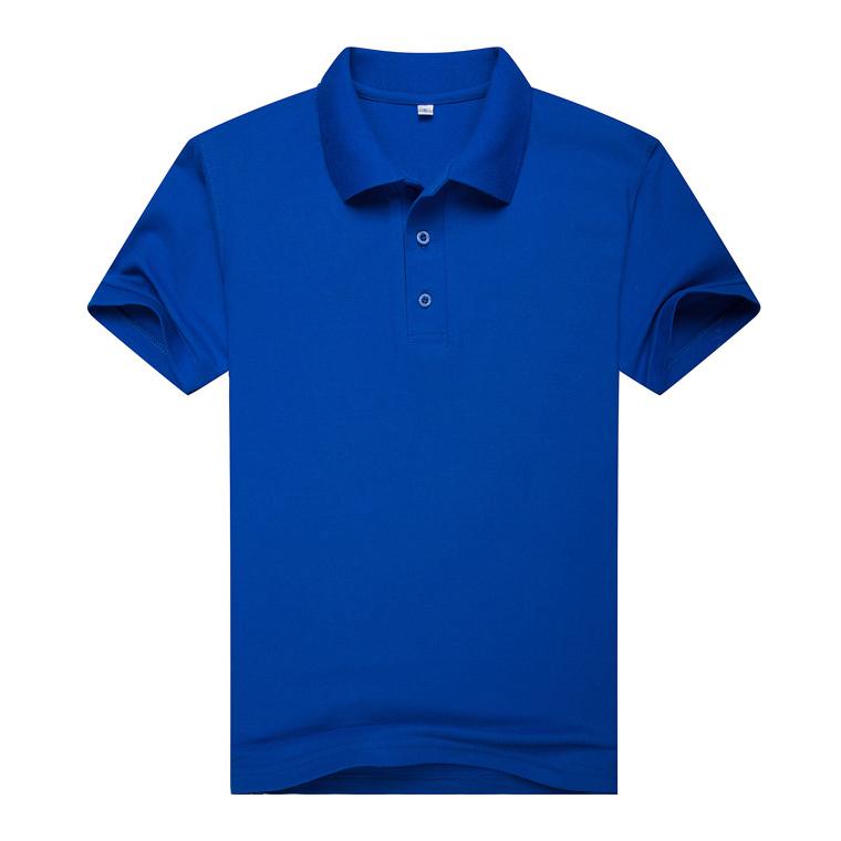 宝蓝色T恤衫,短袖宝蓝色T恤衫万博体育手机端款式 A2-009