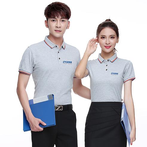 方正集团夏季工作服,方正电脑工作服POLO衫 B1-004