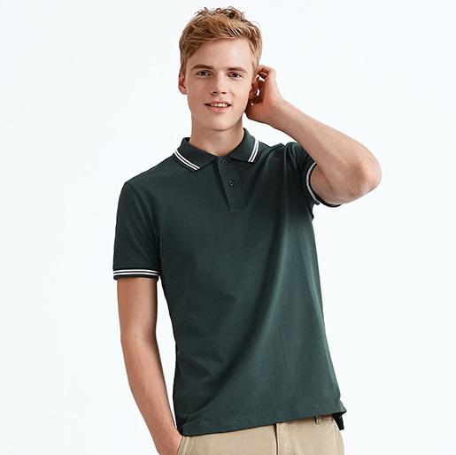 绿色polo衫,墨绿色polo衫,军绿色POLO衫万博体育手机版客户端 B1-020