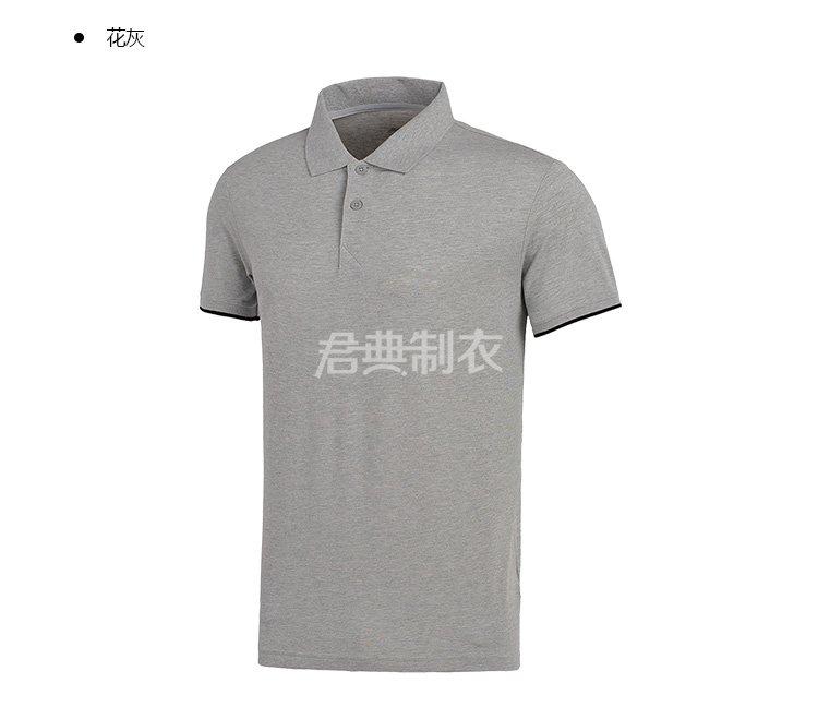 万博体育手机版登录入口麻灰色POLO衫