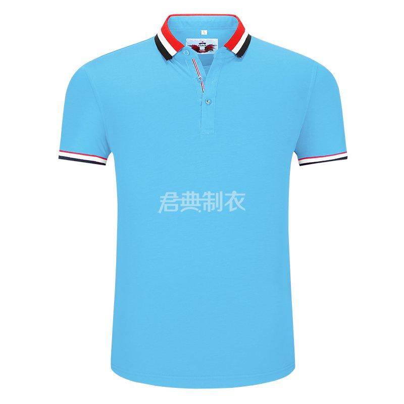 浅蓝榉木纤维POLO衫