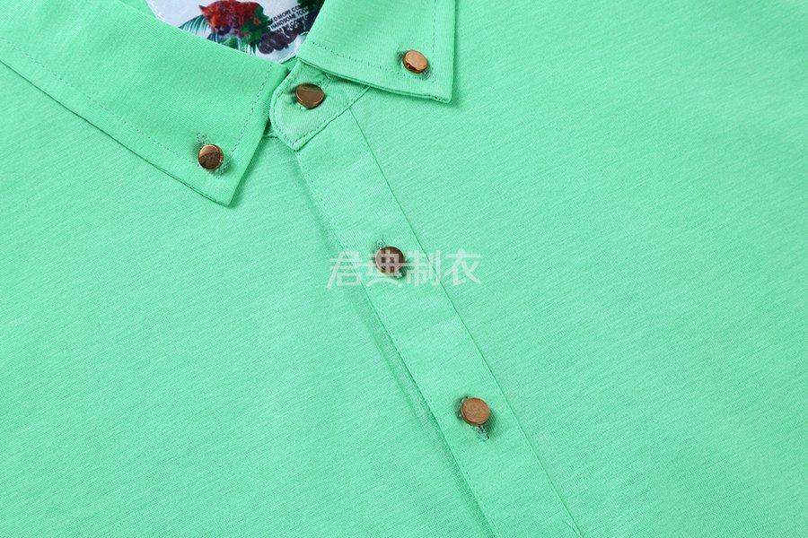 天丝长绒棉POLO衫3