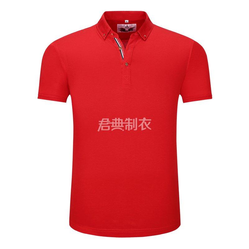 红色万博体育手机版登录入口POLO衫